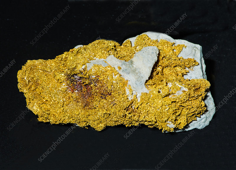 Gold in Rock
