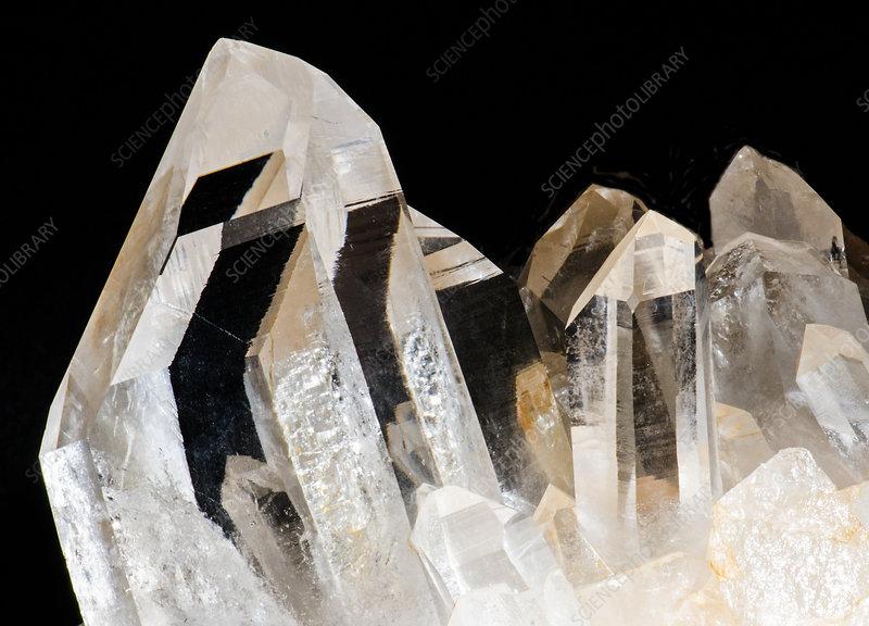 Quartz Crystals - Stock Image - C028/5849 - Science Photo ...Quartz Crystal Science
