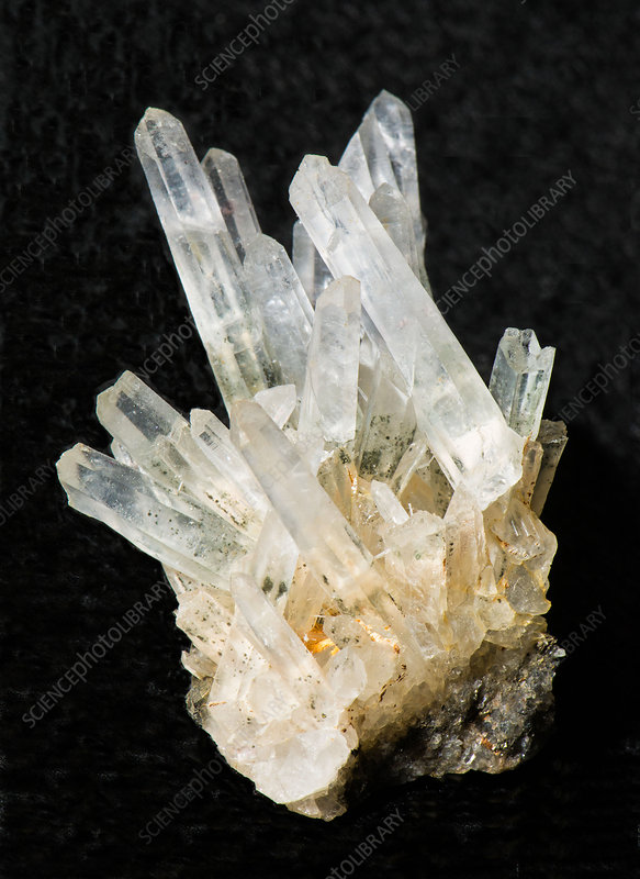 Quartz Crystals - Stock Image - C028/6098 - Science Photo ...Quartz Crystal Science