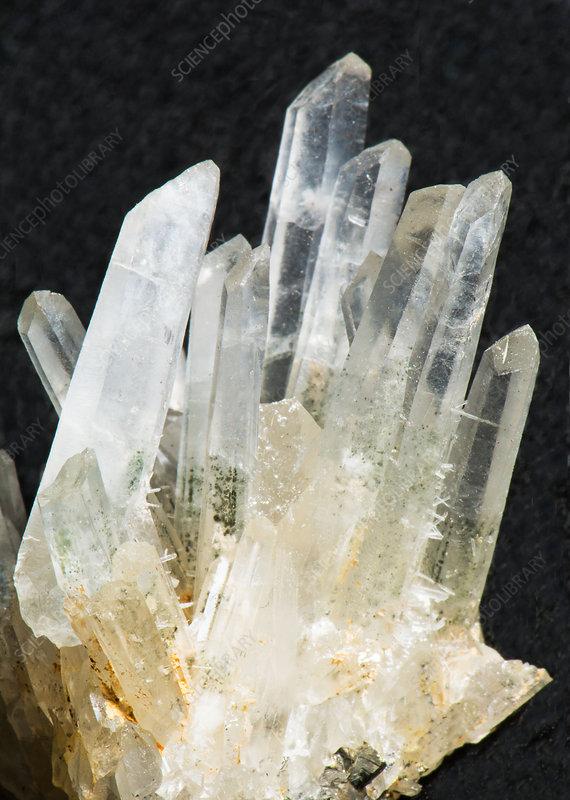 Quartz Crystals - Stock Image - C028/6099 - Science Photo ...Quartz Crystal Science