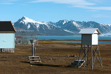 Arctic weather station, Svalbard