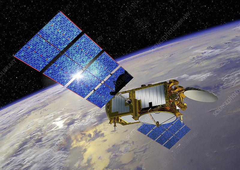 Jason-3 satellite, illustration
