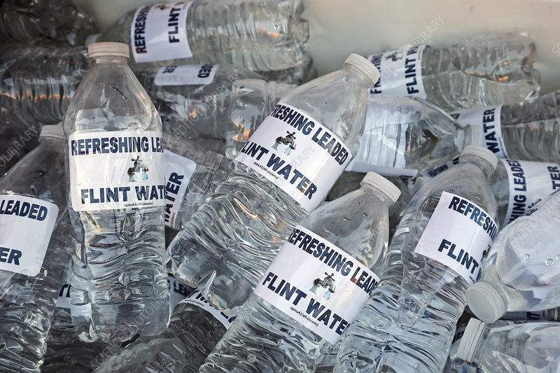 Flint drinking water protest
