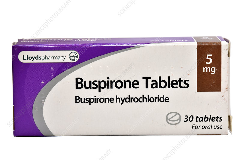 Buspirone anti-anxiety drug