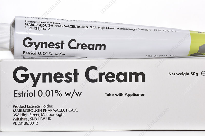 Hormone replacement therapy cream