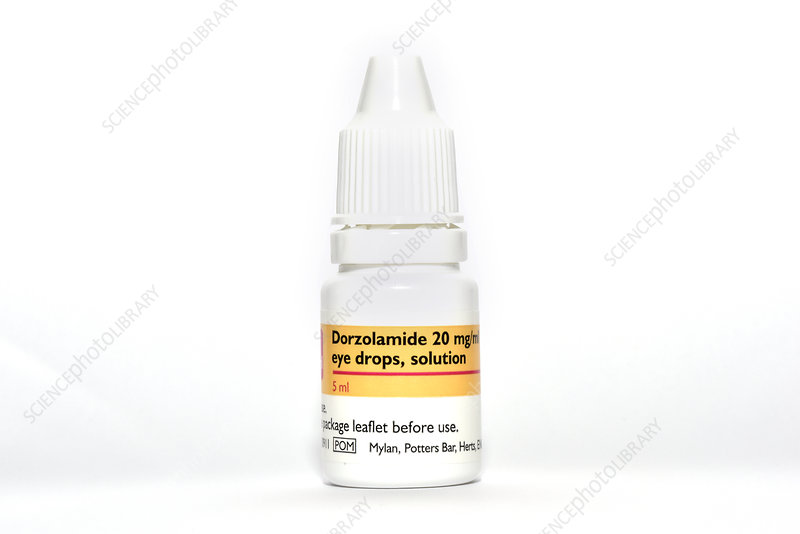 Glaucoma eye drops