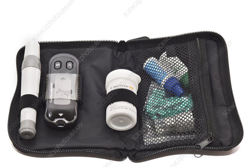 Blood glucose monitor kit