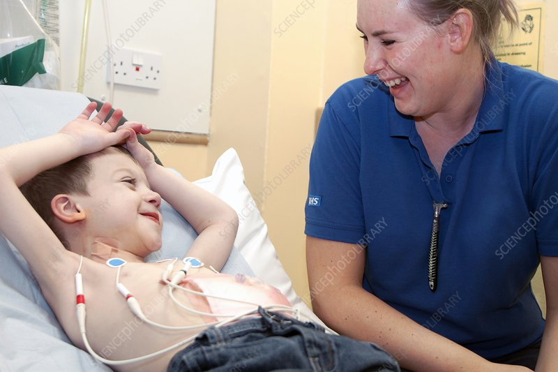 Paediatric cardiology ward