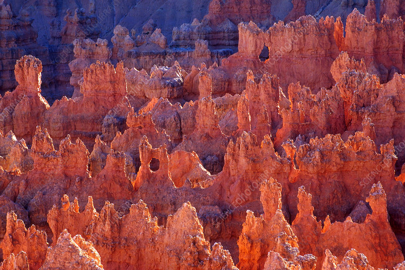 Badland Topography of Bryce Canyon, Utah