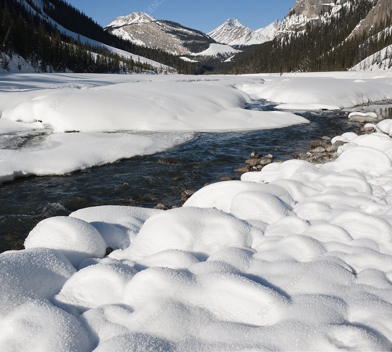 North Saskatchewan River in Winter