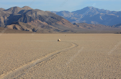 Moving Rocks on Racetrack Playa