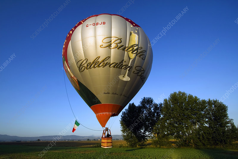Hot Air Balloon, Italy