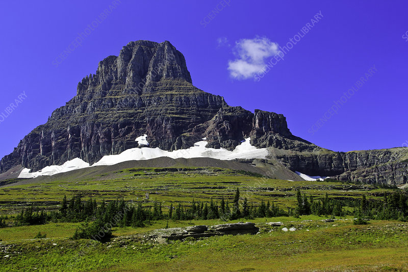 Clements Mountain, Glacier NP, Montana