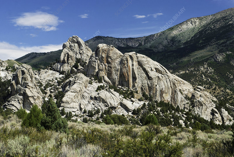 Granite Outcrop, City of Rocks, Idaho