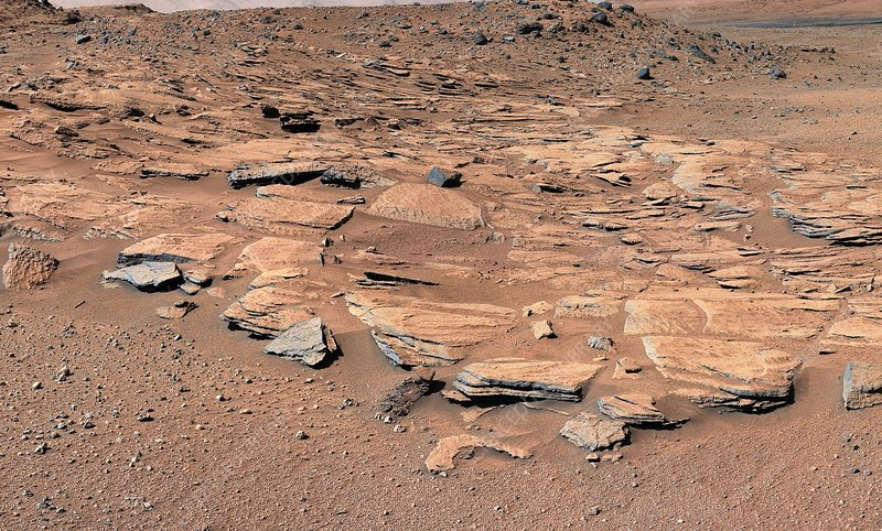 Evidence of water flow on Mars