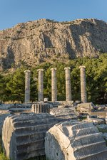 Ruins of the Temple of Athene, Priene.