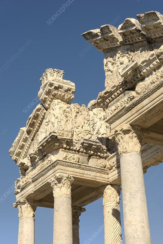 Tetrapylon at Aphrodisias, Turkey