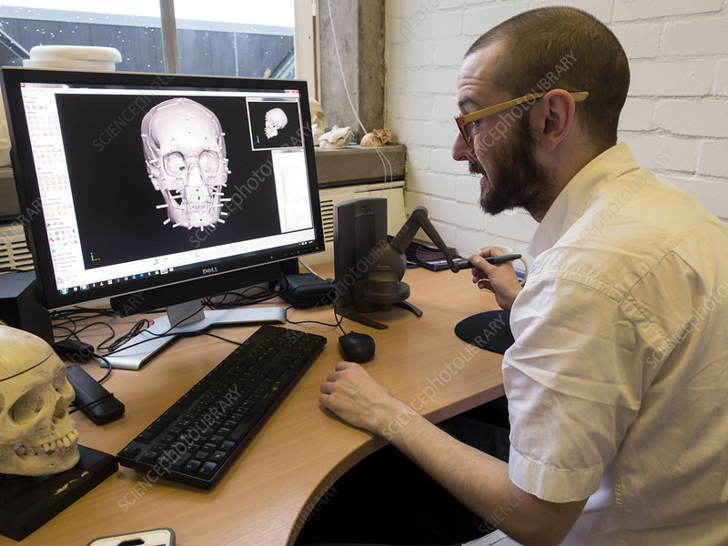 Digital forensic facial reconstruction