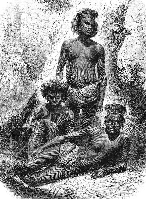 19th Century Loyalty Islands natives