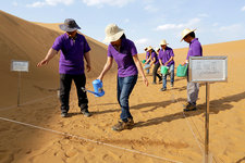 Desertification prevention research