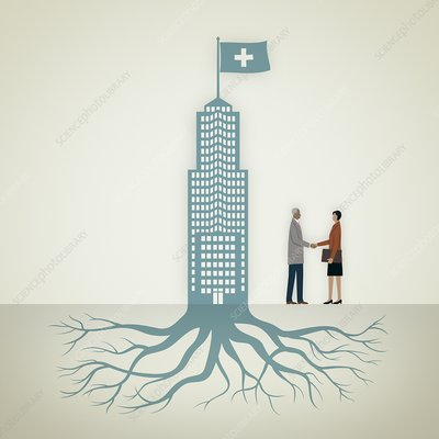 Healthcare solutions, conceptual image