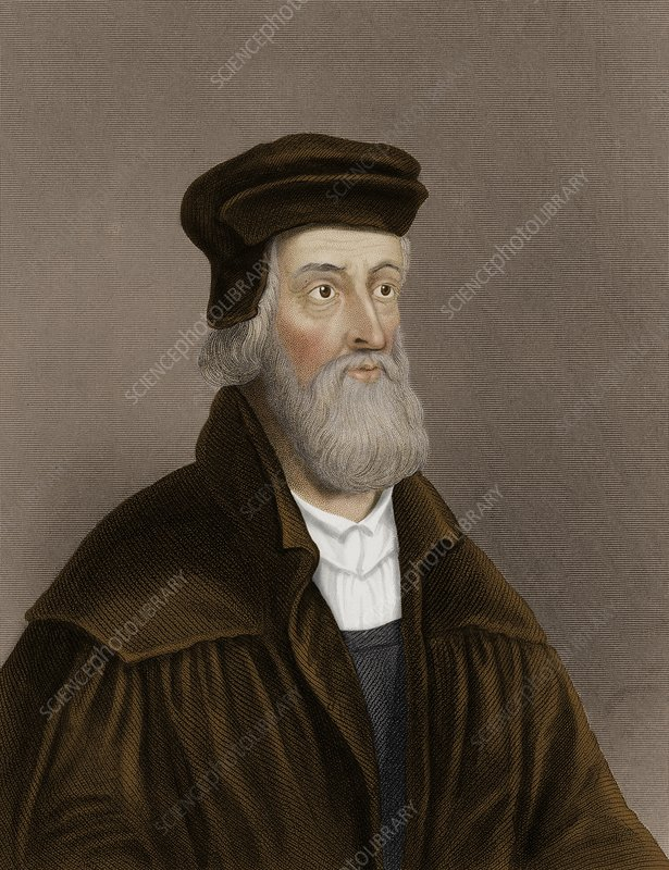 John Wycliffe, English theologian