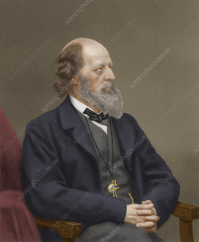 Alfred, Lord Tennyson, British Poet