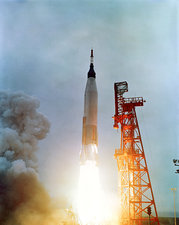 Launch of Mercury-Atlas 7, 1962