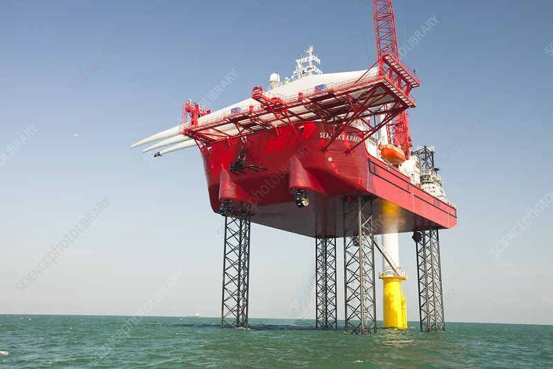 Constructing Walney offshore wind farm