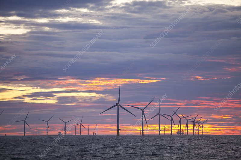 The Walney Offshore windfarm