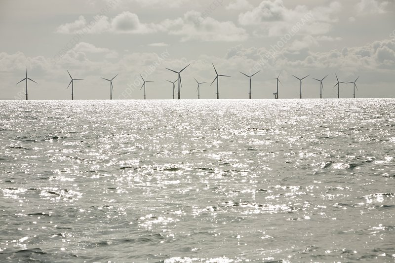 The Walney offshore wind farm