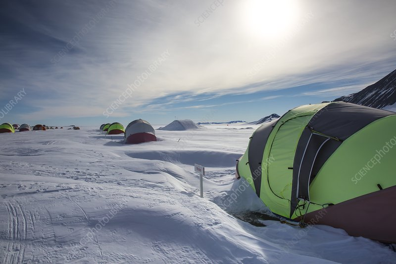 Union Glacier Camp, Antarctica