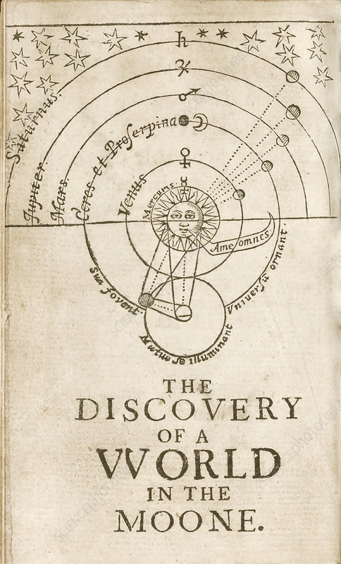 Discovery of a World in the Moone (1638)