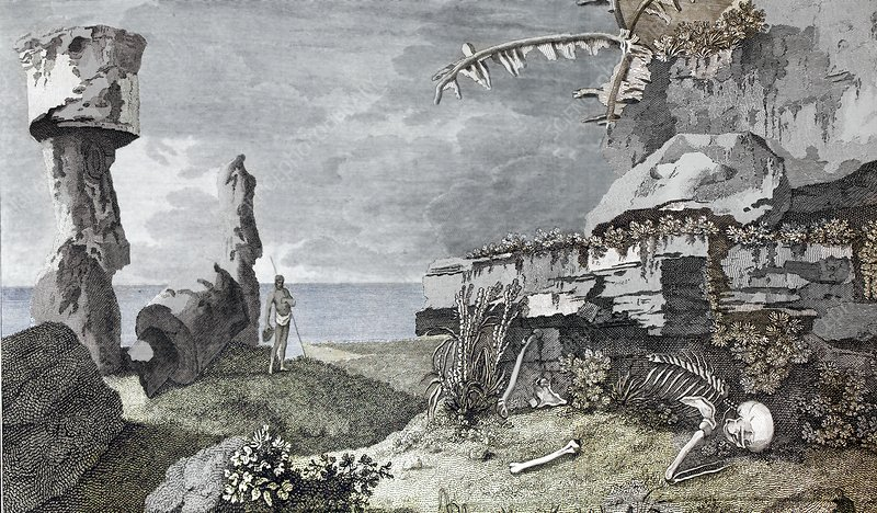 Desolation of Easter Island, 1770s