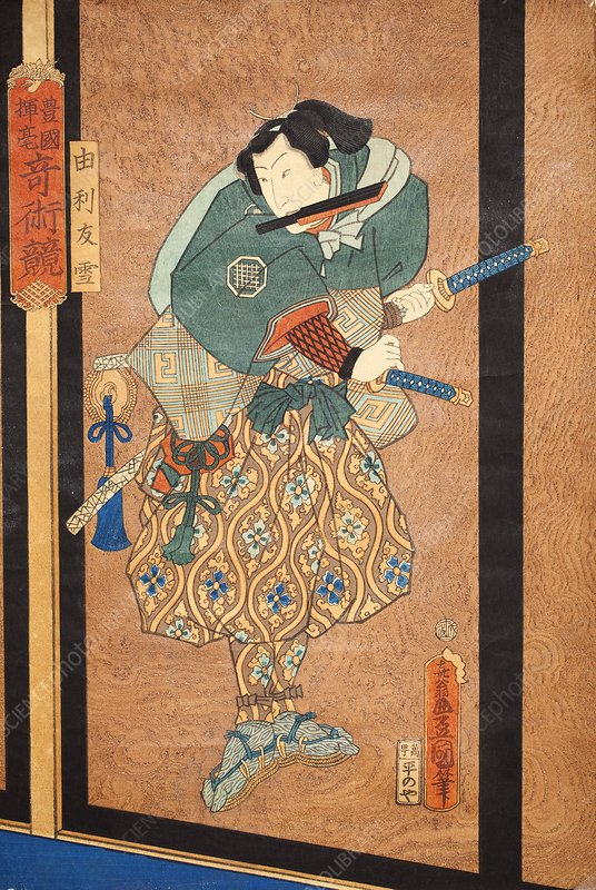 Samurai warrior, Edo period