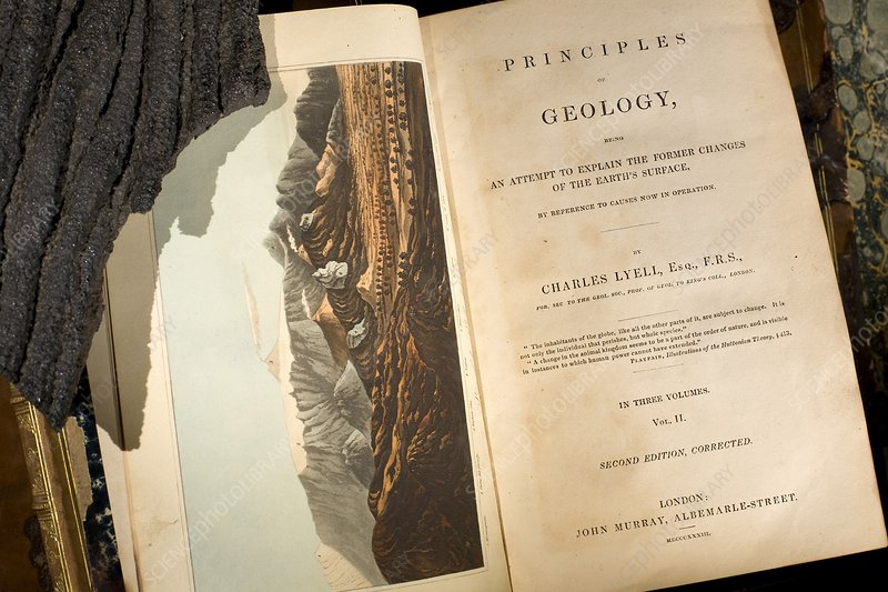 Lyell's 'Principles of Geology' (1833)