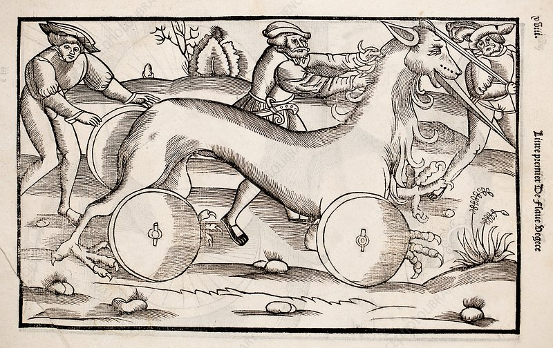 1532 A war machine in the form of a horse
