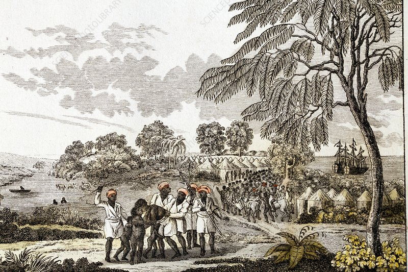Slave trade in Africa, 1805