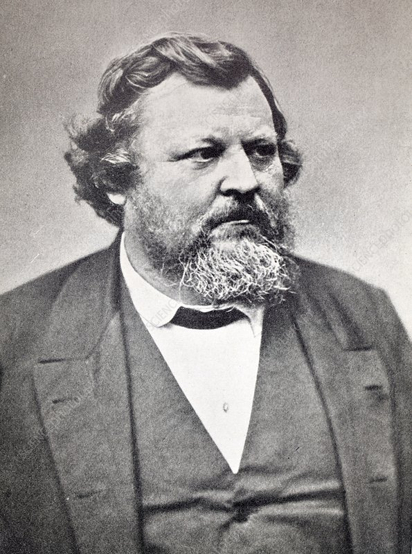 1870's Carl Christoph Vogt Portrait