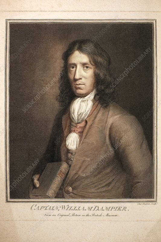 1689 William Dampier Pirate of Genius