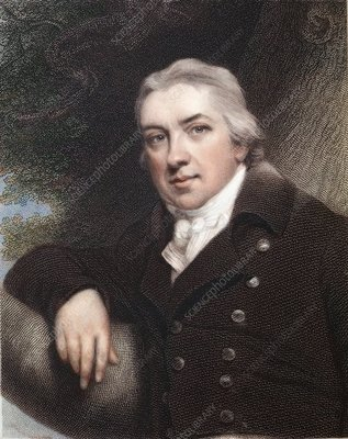 1815 Edward Jenner colour portrait