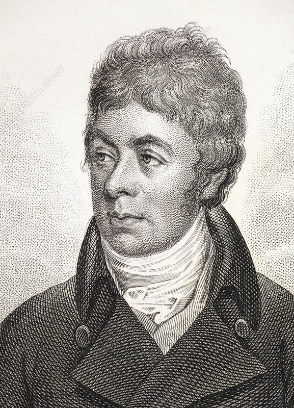 1799 Portrait of George Shaw Zoologist