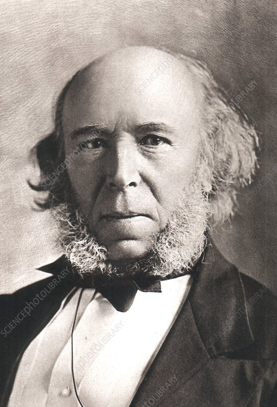 1903 Herbert Spencer Philosopher old age