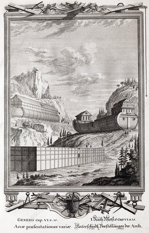 1731 Designs of Noah's Ark