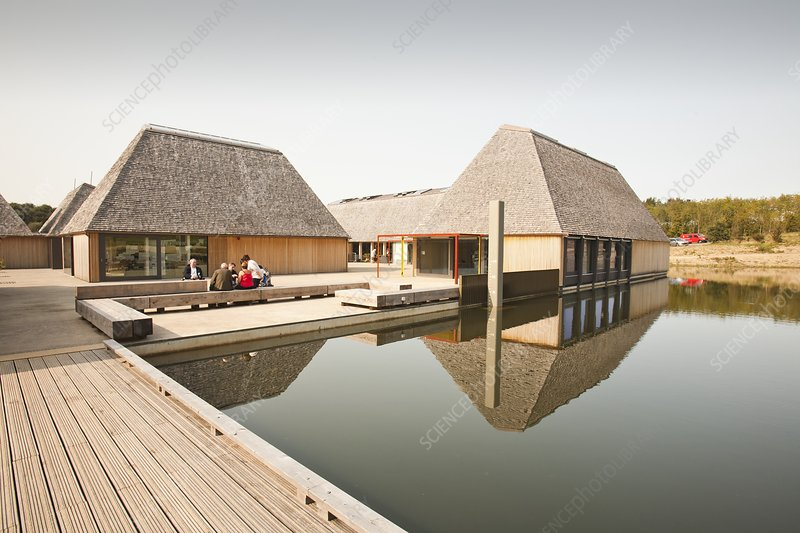 The Brockholes visitor centre