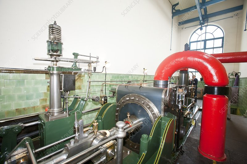 Mill steam engine