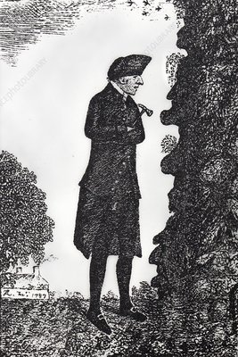 1790 James Hutton Geologist at the Face