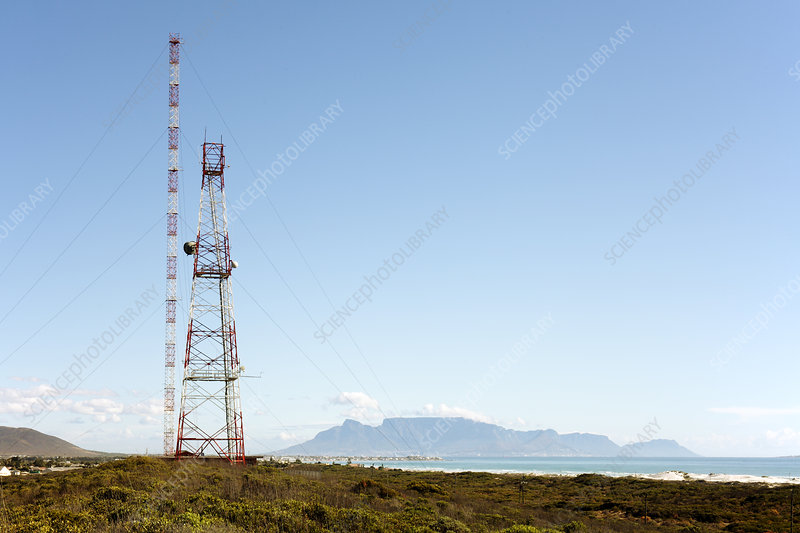 Communications tower, South Africa