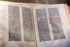 Gutenberg bible, Washington DC, USA