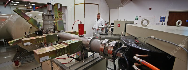 Radiocarbon mass spectrometer (AMS)